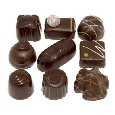 bonbons pure chocolade