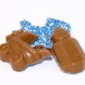 Geboorte chocolade jongen