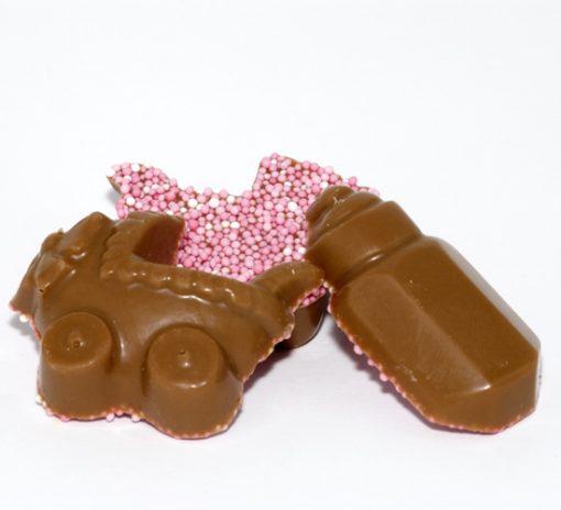geboorte chocolade meisje