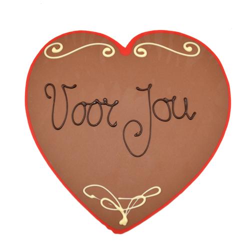 chocolade hart voor jou