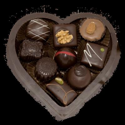 valentijn chocolade hart