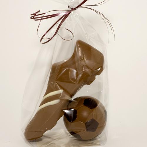 chocolade-voetbalschoen