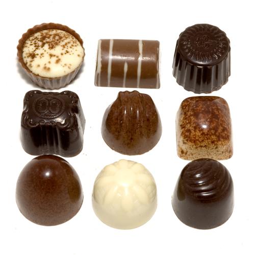 bonbons gemengd slagroom