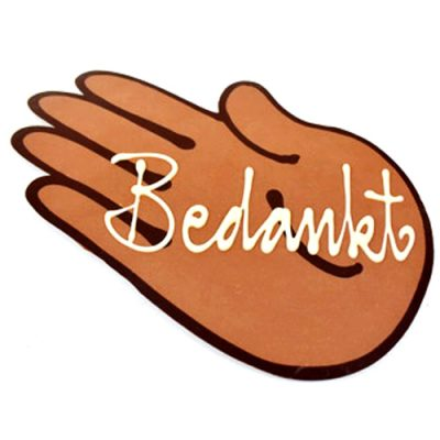 chocolade hand bedankt