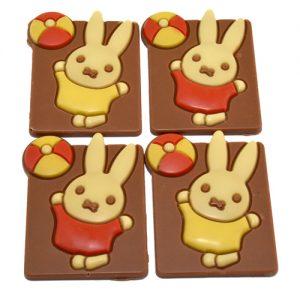 Geboorte chocolade Nijntje