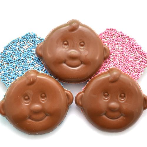 geboorte chocolade baby snoetjes meisje jongen