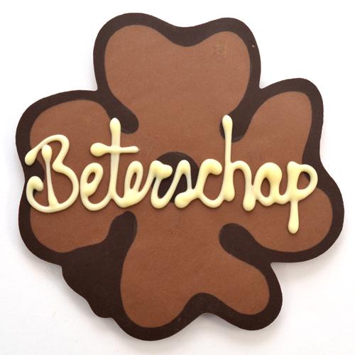 chocolade klavertje vier beterschap