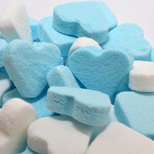 pepermunthartjes blauw wit