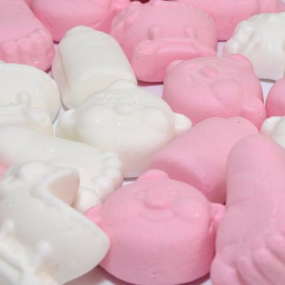 Geboorte snoep roze-meisje