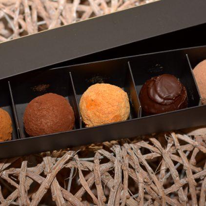 Chocolademelk ballen