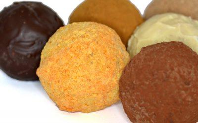 De chocolademelkballen komen er binnenkort weer aan!