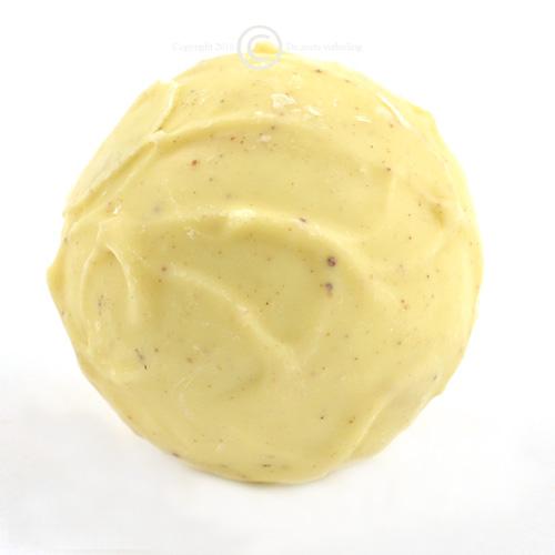 Chocolademelk bal witte chocolade