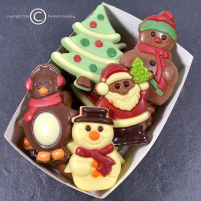 Kerstchocolade Figuurtjes