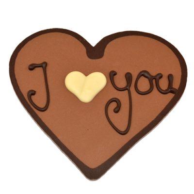 Valentijn chocolade hartje