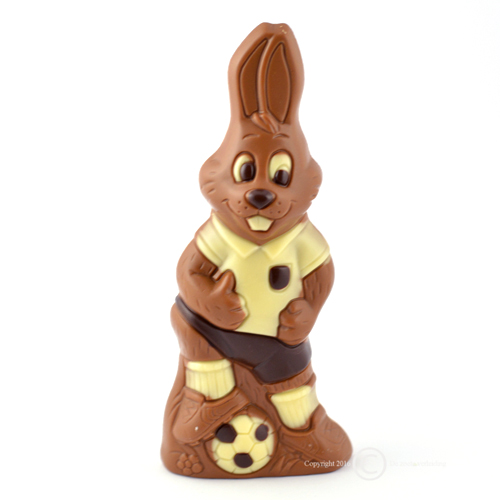 chocolade paashaas voetbal