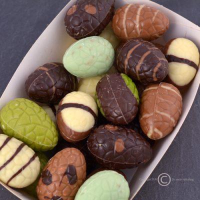 chocolade paaseitjes massief