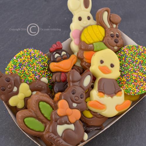 Paaschocolade figuurtjes