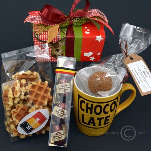 Kerst pakket chocolate