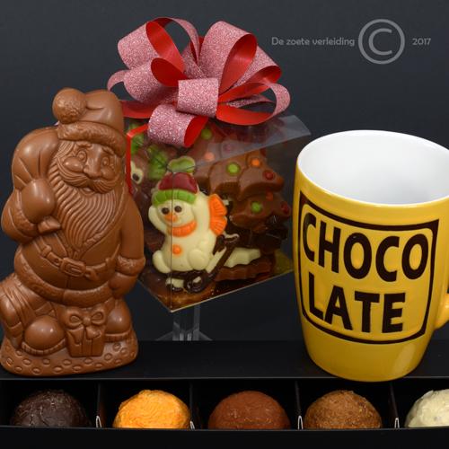 Chocolademelk ballen kerstgeschenk