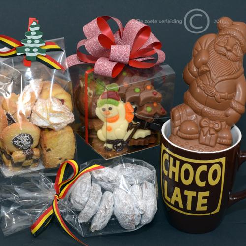 Kerstpakket chocolate