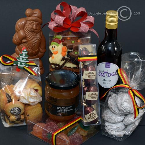Kerstchocolade pakket luxe