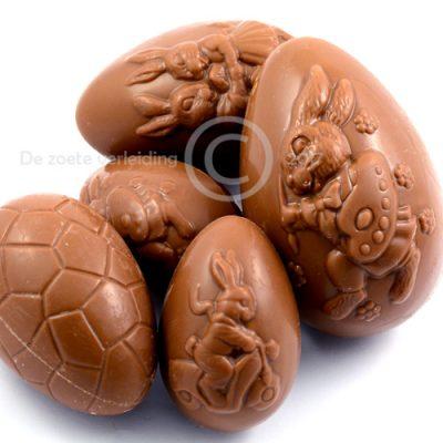 Paaseieren melkchocolade