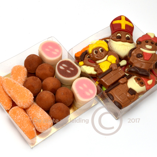 Sint chocolade marsepein duo