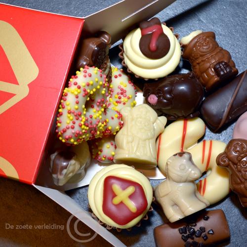 Sinterklaas bonbons in sint doosje