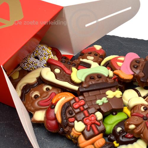 sinterklaas chocolade in sint doosje