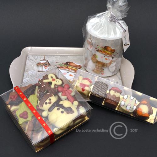 kerst chocolade pakket