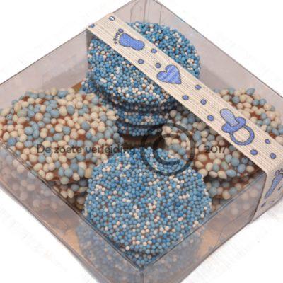 Geboorte flikken blauw mix
