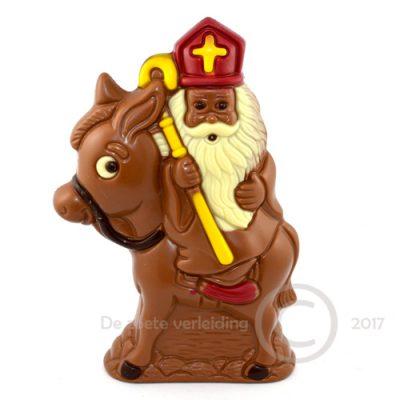 Sinterklaas op ezeltje