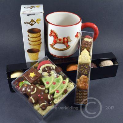 Chocolademelkballen kerstgeschenk