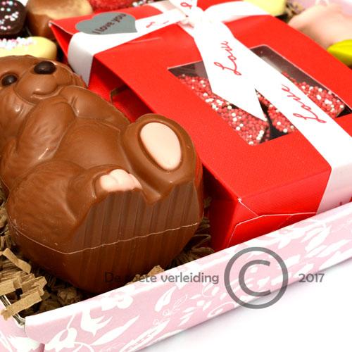 Valentijn chocolade cadeau