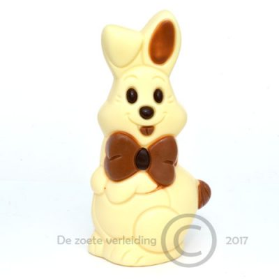 Happy paashaas witte chocolade