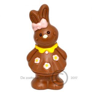 Paashaas Olivia melkchocolade