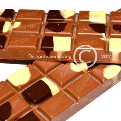 Chocolade reep hazelnoot praline