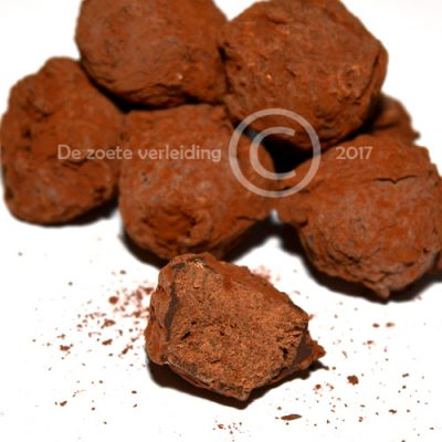 Pure cacao truffels