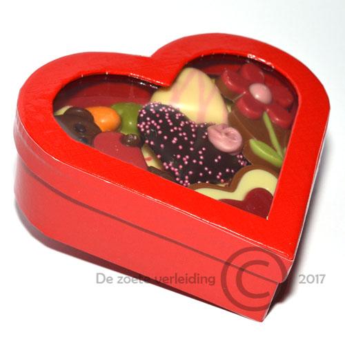 Hart onder de riem chocolade